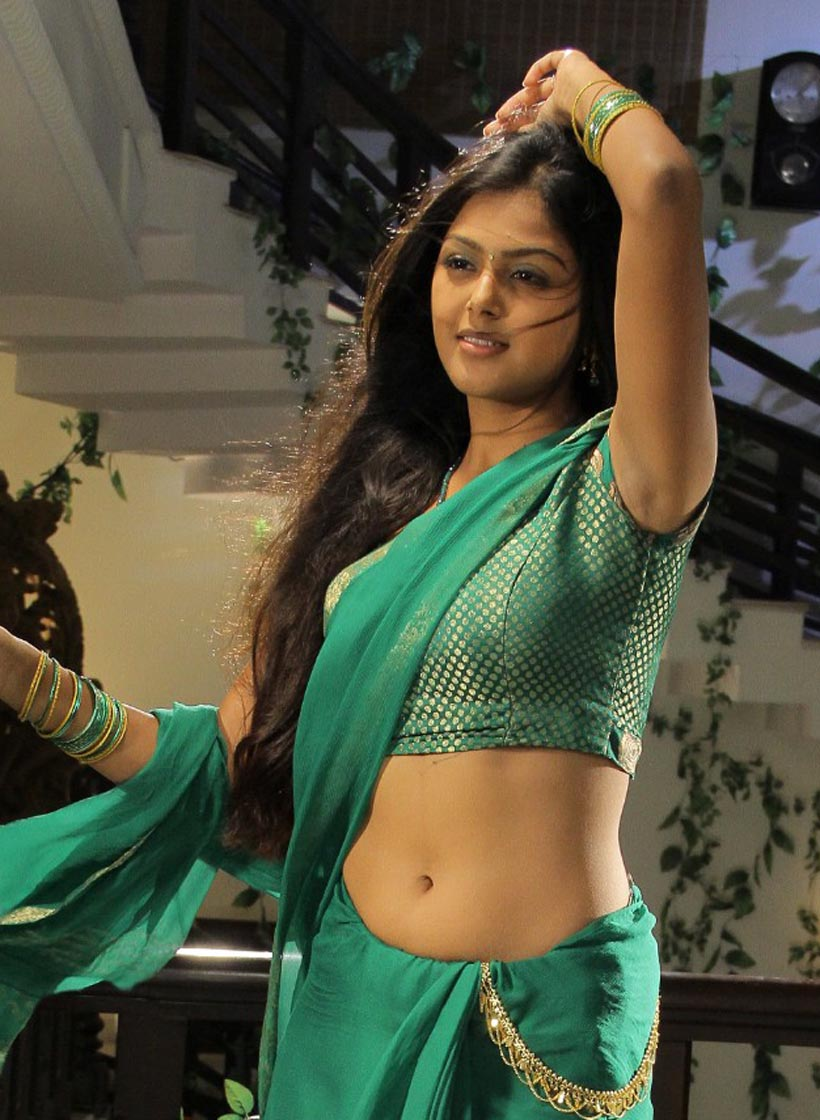 Sexy navel show in saree
