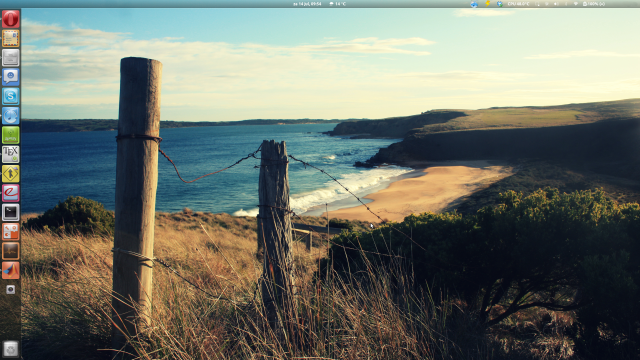 ubuntu] Unity Launcher on top of Gnome Shell